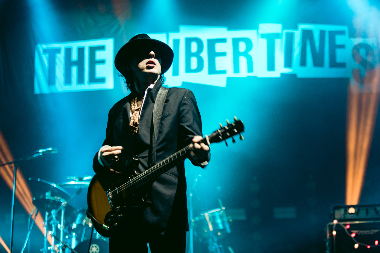 "Last year's Libertines shows were their ""first sober"" tour Carl Barat says 