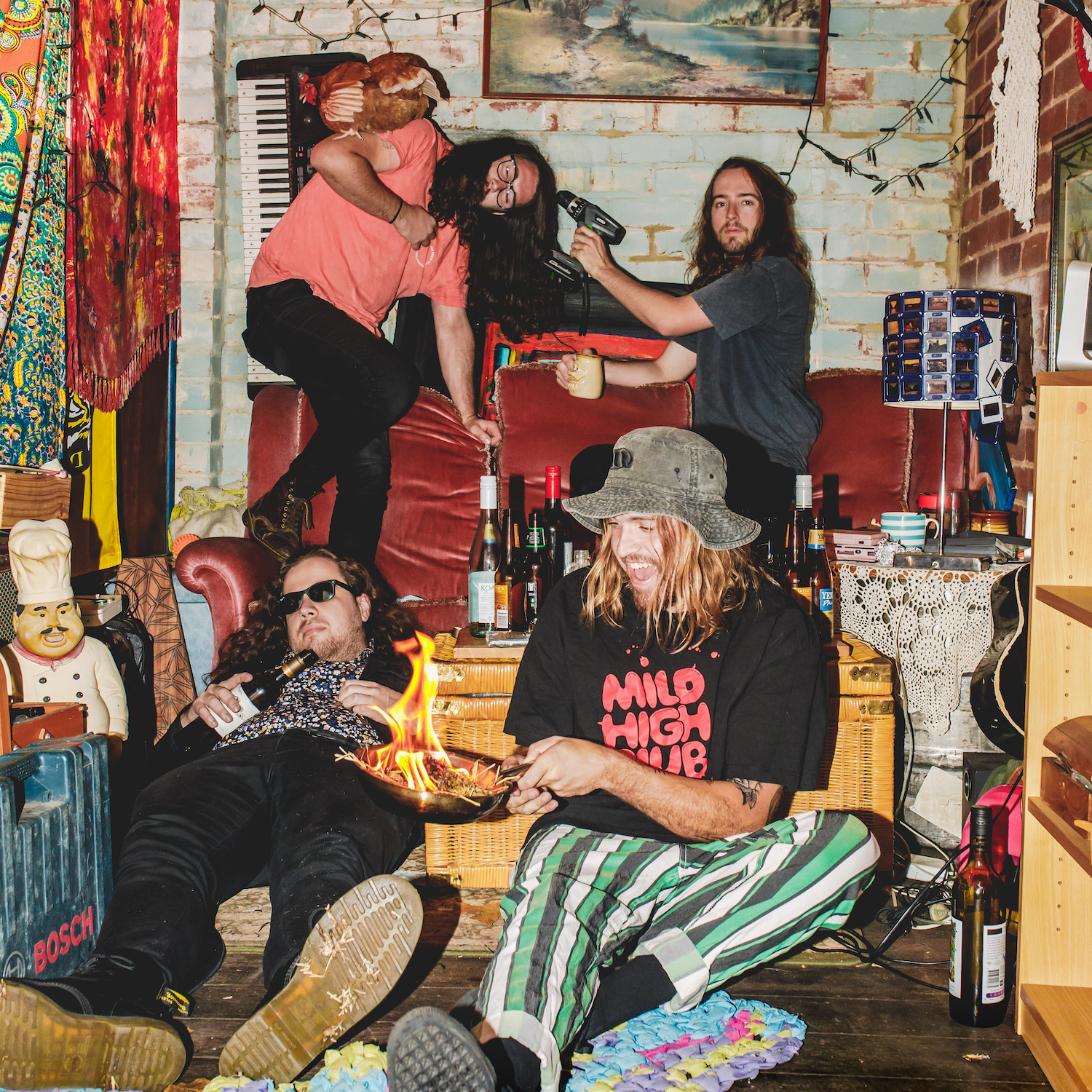 'Mundungus' is the latest release from Psychedelic Porn Crumpets
