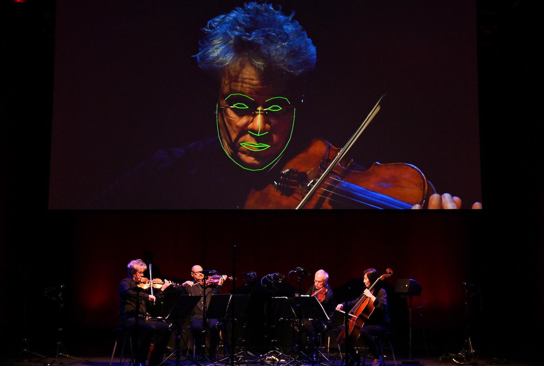 Kronos Quartet & Trevor Paglen: Sight Machine at Life Rewired at The Barbican, London, 11/07/19