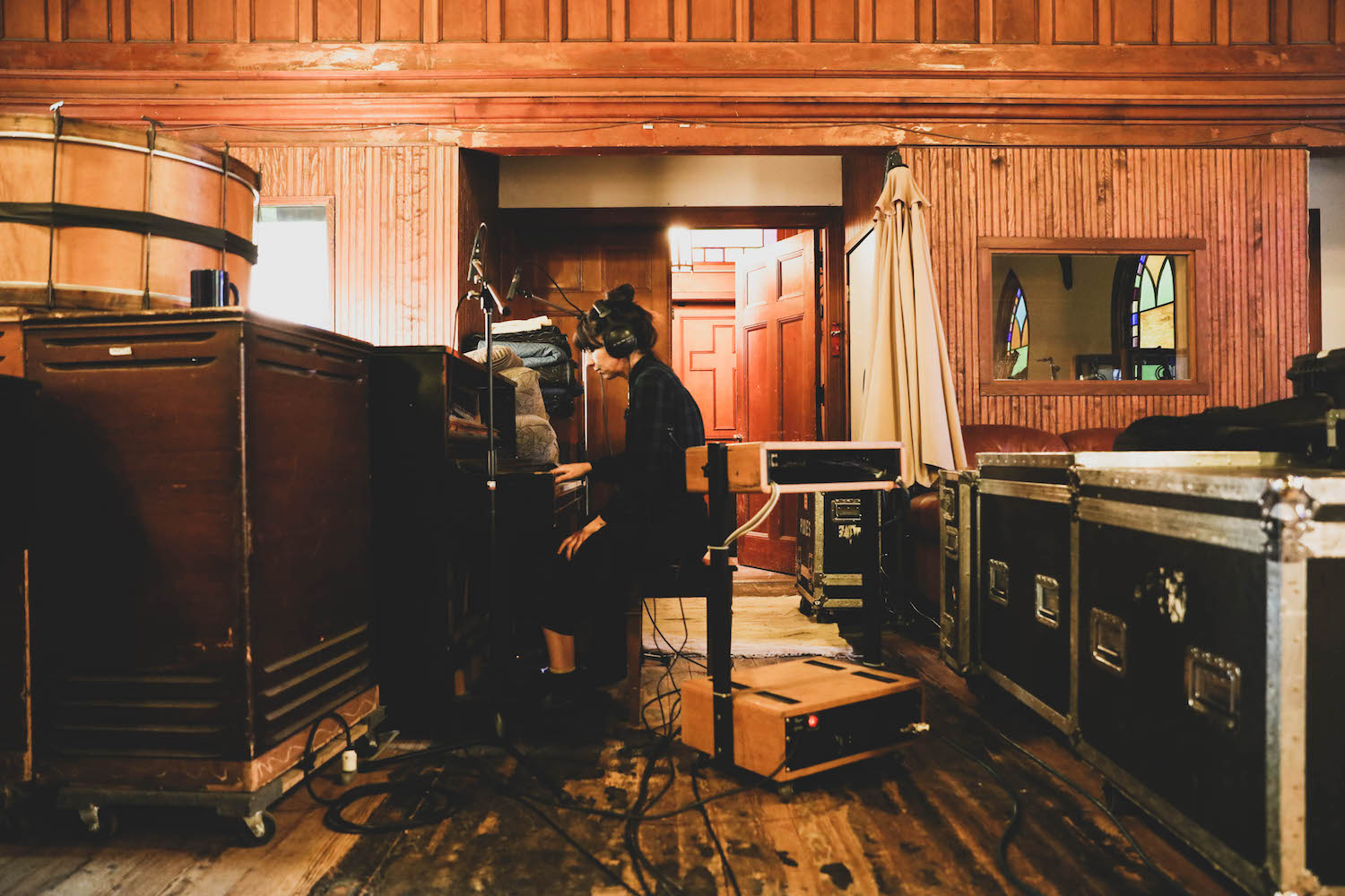 Exclusive candid photographs of Pixies In The Studio