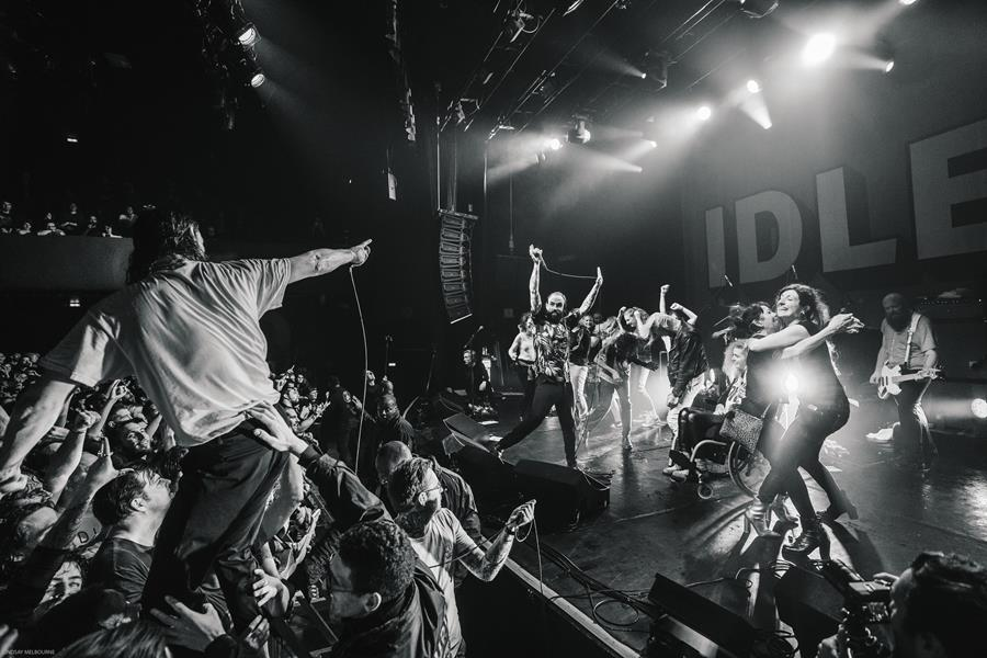IDLES announce live album A Beautiful Thing: Live at Le Bataclan