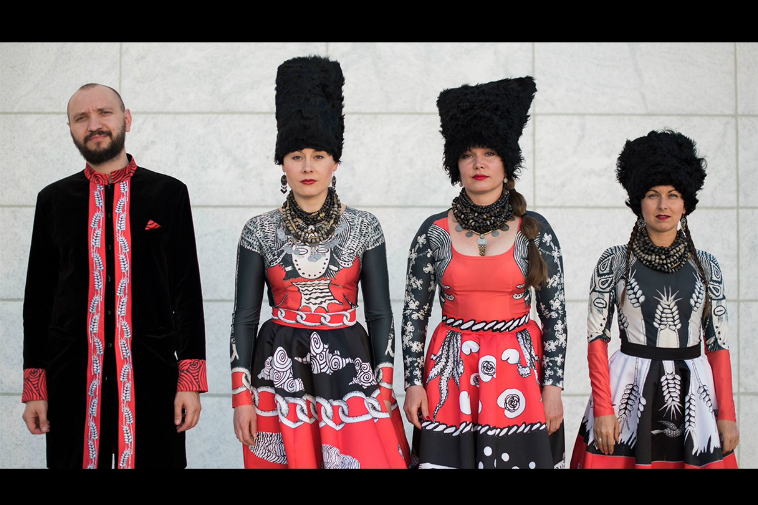 DakhaBrakha break down their pioneering sound, talk punk ethic + new album