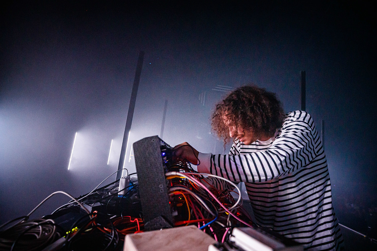 Colin Benders on modular synths, his new A/V show + The Kyteman Orchestra's legacy