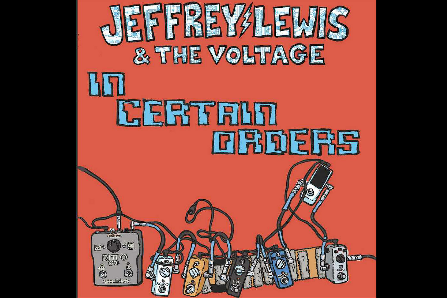 Watch: Jeffrey Lewis & The Voltage share video for new track 'In Certain Orders'